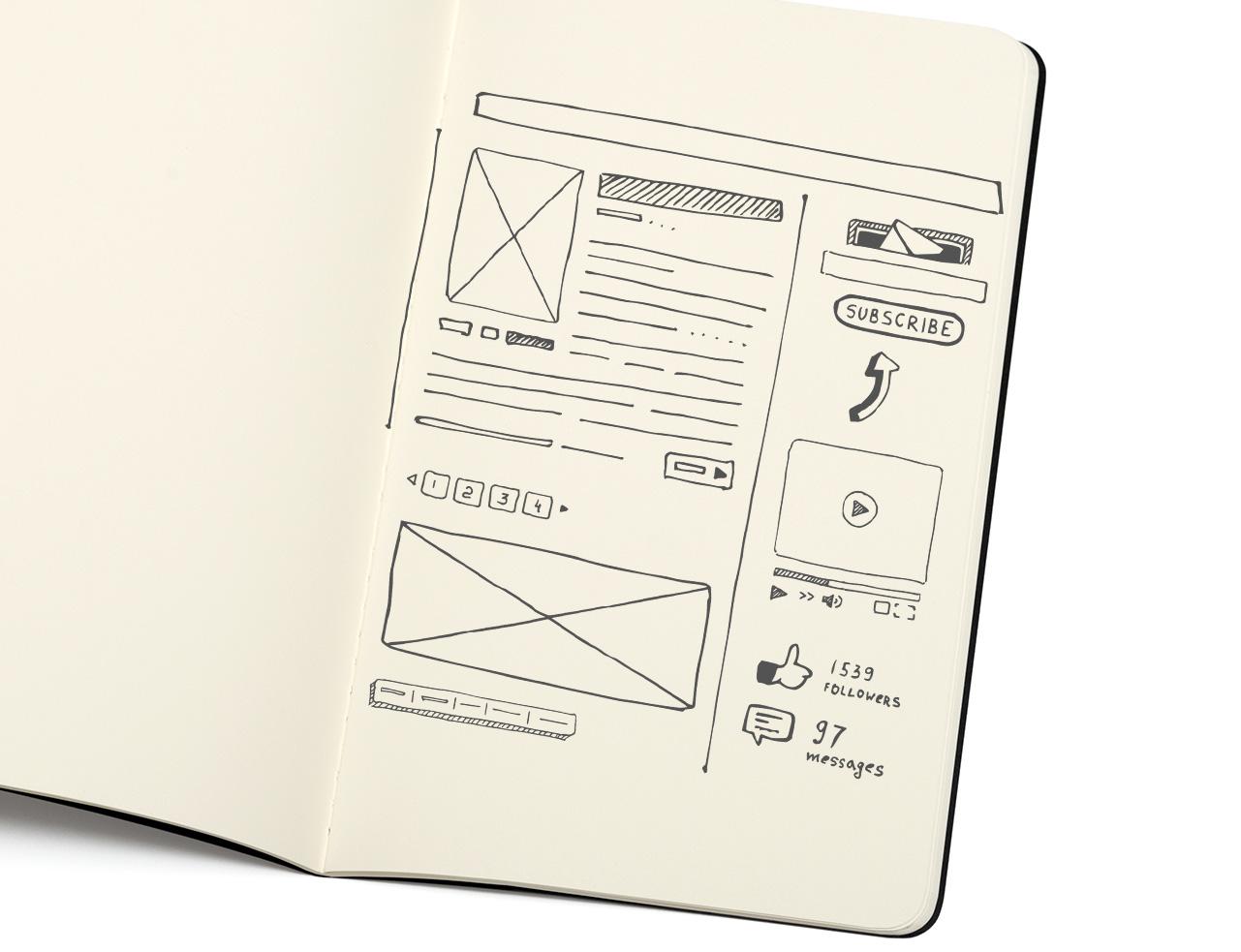 Web Sketch Notebook