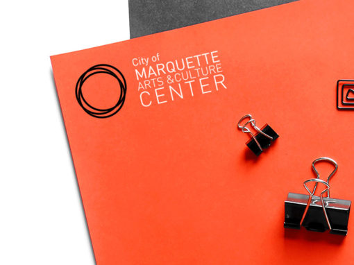 Marquette Arts and Culture Center // Branding and Identity Design