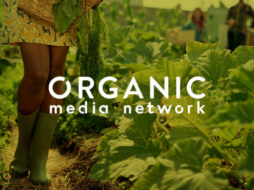 Organic Media Network // Web Design, UX