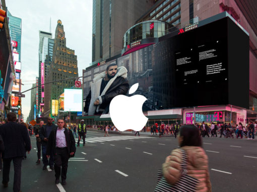 Apple Music Times Square // Experience Design